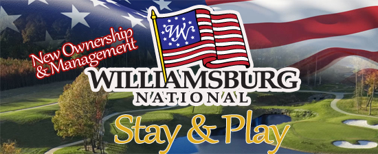 Williamsburg Golf Package at Williamsburg National